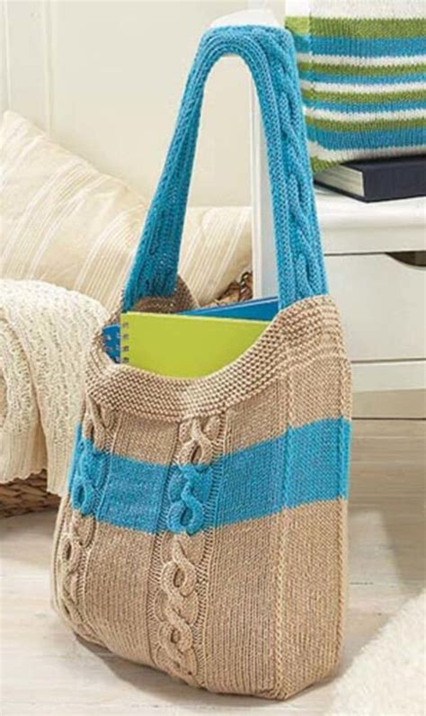 knitting totes tote knitting patterns in the loop knitting