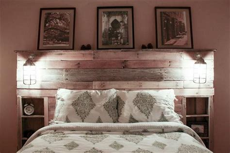 headboard with shelves pallet headboard with shelves www pixshark images