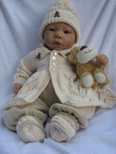 baby doll knitting patterns uk 1000 images about reborn baby doll patterns on