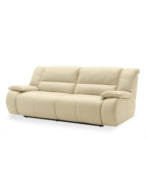franco leather reclining sofa franco leather sofa power motion reclining 86 quot w x