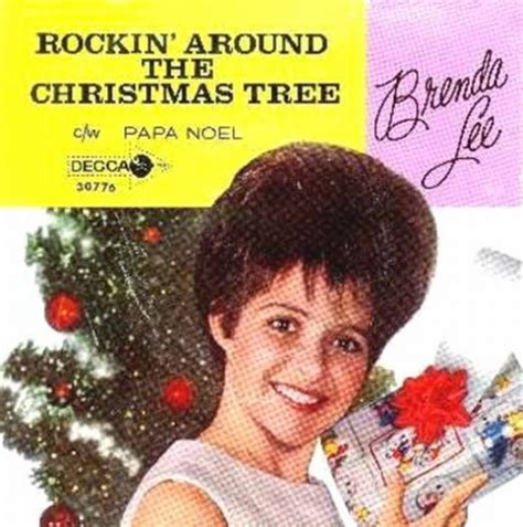 brenda rocking around the tree brenda rockin around the tree 1958 3 365