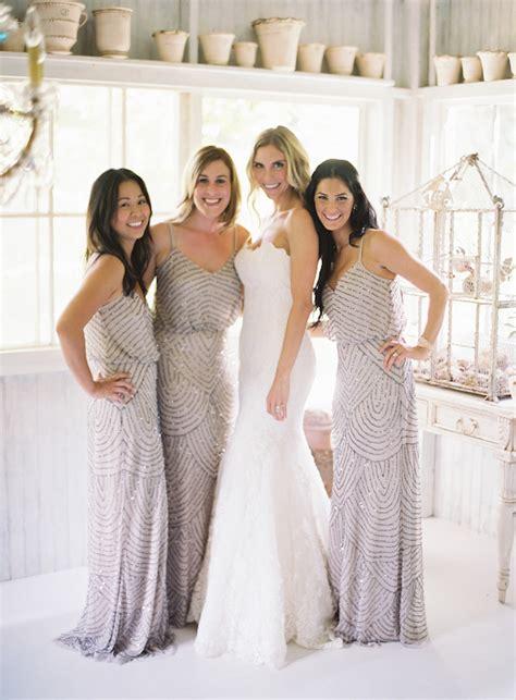 beaded bridesmaid dresses wedding trends beaded bridesmaid dresses the