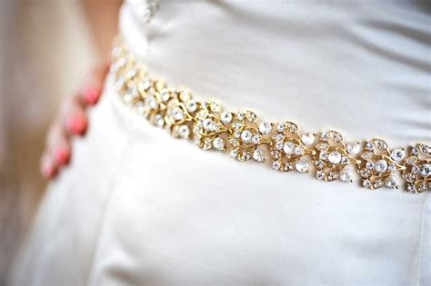 gold beaded belt gold beaded bridal belt to adorn a simple wedding dress