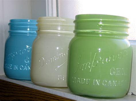 spray paint jars on the prairie spray painted jars