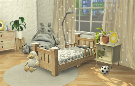 toddler bed furniture my sims 4 classic toddler bed frame and mattress