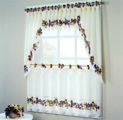 themed kitchen curtains wine themed kitchen curtains with fruit wine print