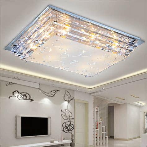 ceiling lights for room modern minimalist ceiling light e27crystal led ceiling