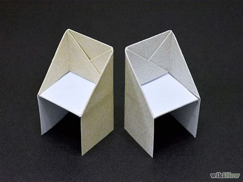 furniture origami best 25 origami chair ideas on origami