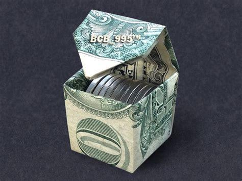 origami money box cubic money box dollar origami dollar vincent the artist