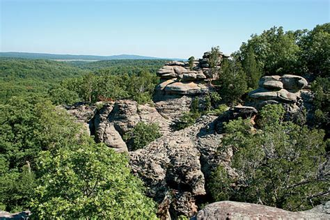 Garden Of The Gods Fall Fall Travel 2010 Shawnee National Forest Chicago