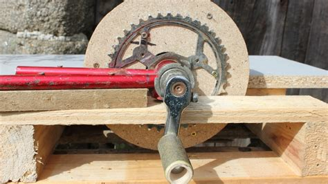 home made home made tools powered sander ponceuse