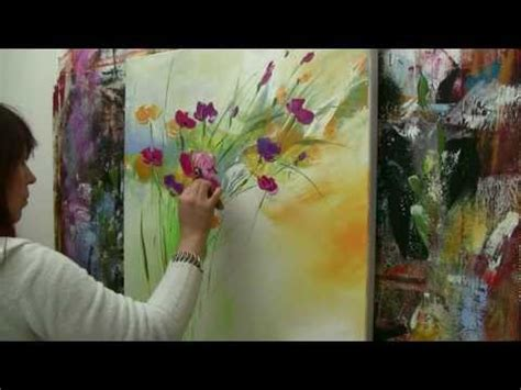 bob ross painting time lapse floral paint