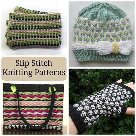 how to do a slip stitch knitting easy peasy colorwork slip stitch knitting patterns