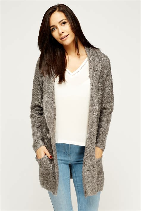 hooded knit cardigan knit hooded cardigan just 163 5