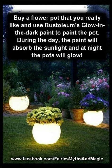 glow in the paint cheap 25 unique flower pots ideas on diy planters