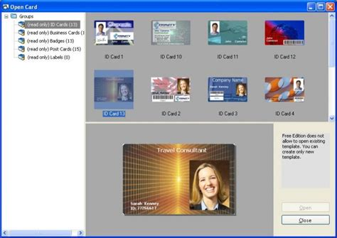id card software free easy card creator