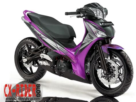 Gambar Modifikasi Motor Supra X by Modifikasi Warna Motor Honda Supra X 125 Terbaik Klobot