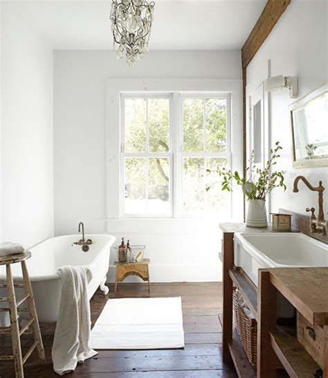 country bathrooms designs madera r 218 stica y blanco rustic wood and white desde my