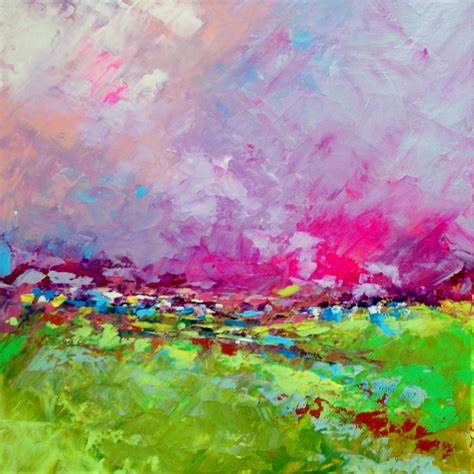acrylic painting landscape abstract landscape remember me acrylic painting on