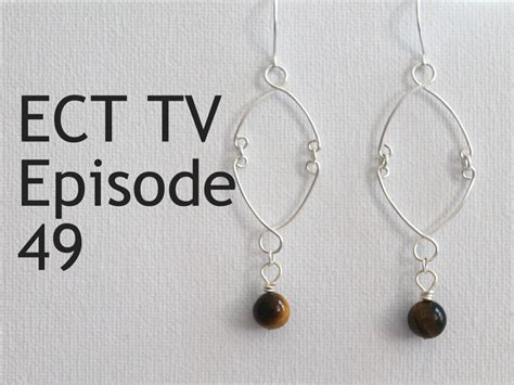 wire work secrets jewelry tutorials ect tv episode 49 wire work earrings emerging