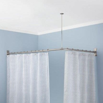 bathroom shower curtain rods 25 best ideas about shower curtain rods on