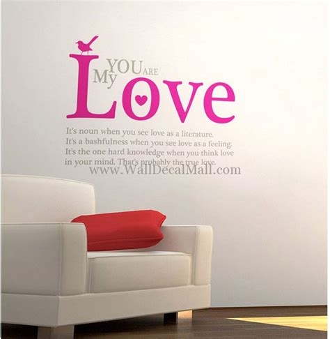 sticker wall quotes you are my quotes wall decals walldecalmall