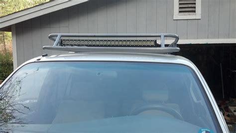 roof rack led light bar led light bars on roof rack toyota 4runner forum
