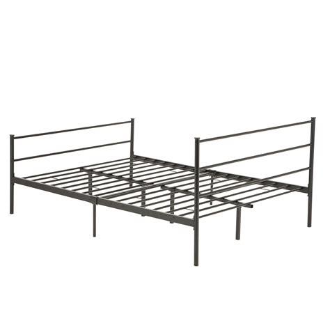 king size metal platform bed frame king size bed frame metal size of bedroom mattress