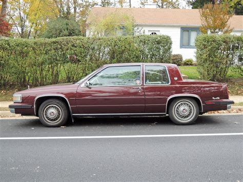 1985 Cadillac Coupe by Curbside Classic 1991 Cadillac Fleetwood Coupe Turning