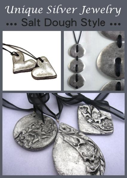 make your own silver jewelry diy unique silver jewelry salt dough style homestead