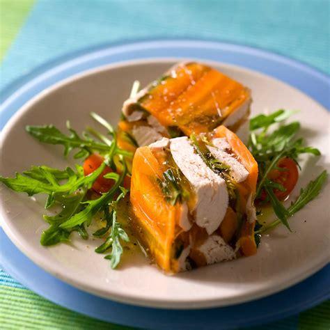 poule au pot en gel 233 e facile et pas cher recette sur cuisine actuelle