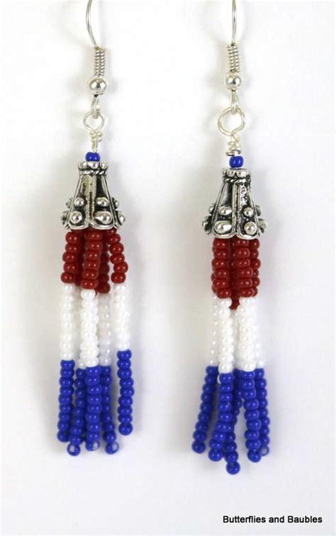 beaded earrings diy beaded fringe diy earrings allfreejewelrymaking