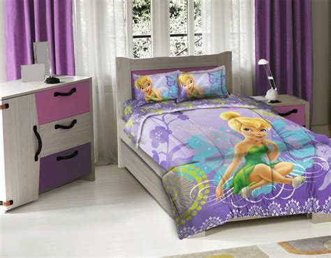 tinkerbell comforter set disney tinkerbell licensed 3pcs bedding