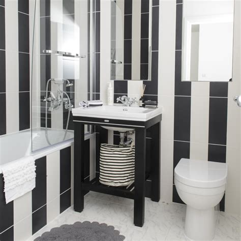 black and white bathroom tile designs black and white bathroom designs ideal home