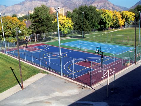 backyard court playground for your sport court backyard court