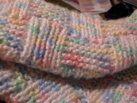 baby blanket knit teaching cats to knit free knitting pattern garter and
