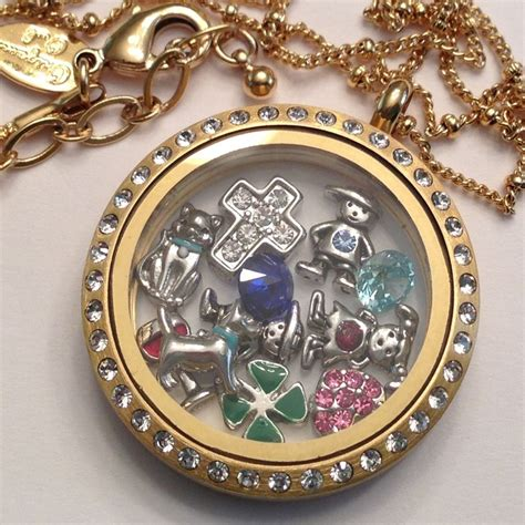 origami owl large gold locket with crystals 17 best images about origami owl gold on mardi