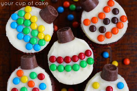 ornament cupcakes easy cupcakes www imgkid the image kid has it