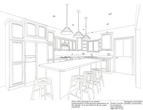 kitchen design dimensions drawing kitchen design most favored home design