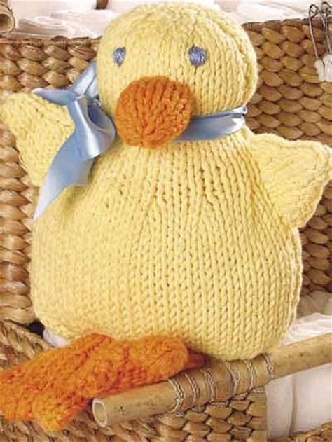 knitted toys patterns free free knitting patterns waddle duck