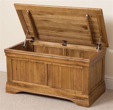 bedroom storage trunk solid oak wood blanket box chest storage trunk