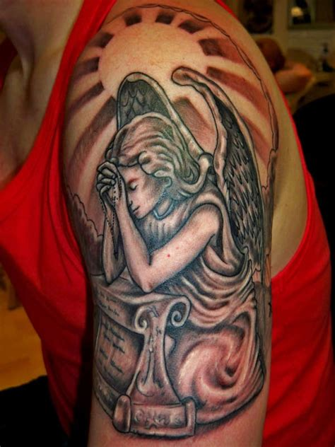 praying angel tattoo images amp designs
