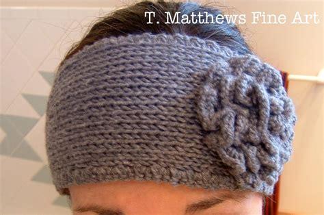 knitting headband pattern t matthews free knitting pattern headband ear