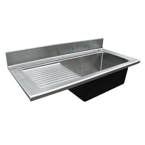 kitchen sink drainboard custom stainless sink drainboard sinks from handcrafted metal