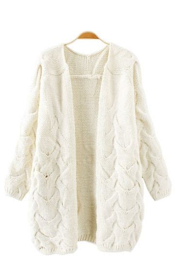 white knitted cardigan 1000 ideas about chunky knit cardigan on knit