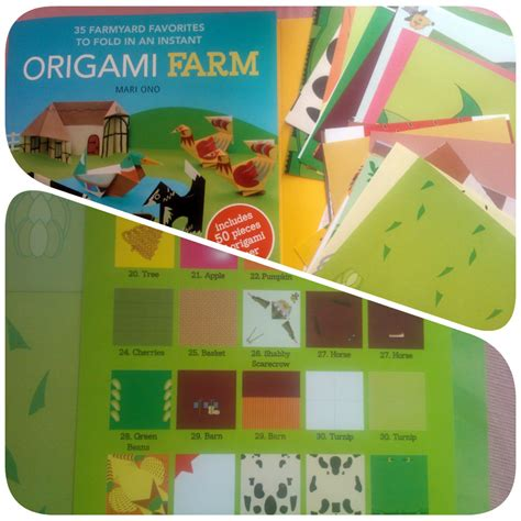 origami farm animals origami farm book review mummy s starsmummy s