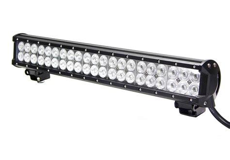 led light bar 20 inch vortex series led light bar 20 inch 126 watt combo