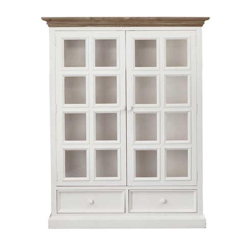 cabinet door display mansfield 2 door display cabinet white