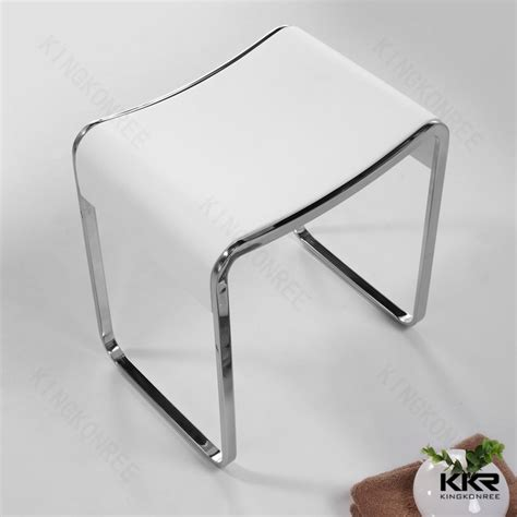 modern vanity stool for bathroom wholesale acrylic bathroom vanity stool special price