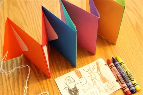 make picture books bookmaking for accordion envelope books your way